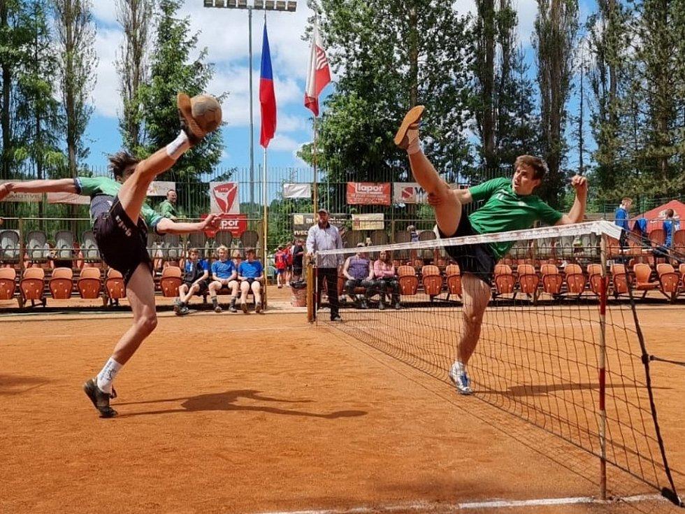 Nohejbalové MČR dorostu vyhráli mladíci Spartaku Čelákovice
