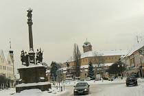 Sníh zasypal i Nymbursko