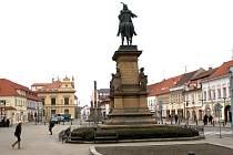 Jiřího náměstí v Poděbradech