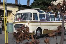 Sraz historických autobusů a náklaďáků Zlatý Bažant 2010 v Nymburce