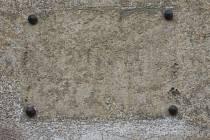 Místo, kde byla deska v ulici Ke Katovně