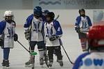 Jeden z prvních přípravných utkání za sebou mají mladší žáci hokejového klubu z Kralup.