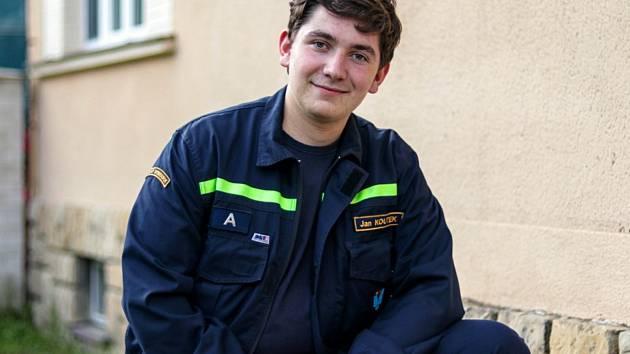 Filmař a dobrovolný hasič Jan Koutek.