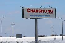 Ukazatel firmy Changhong