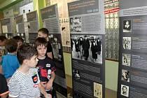 Projektový den na Základní škole Letců RAF se zaměřil na osudy Židů.