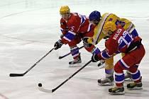 Z utkání druhé hokejové ligy Nymburk - Klášterec (2:5)
