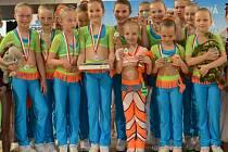 Nejmladší poděbradský tým ATS si užívá zlaté medaile