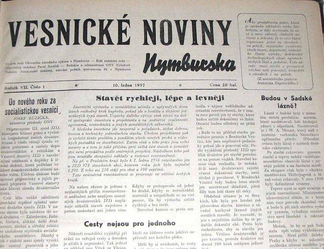Vesnické noviny