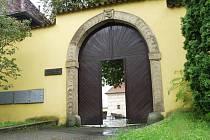 Vchod do muzea v Čelákovicích