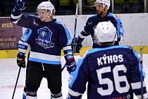 Gólová radost hokejistů Mostu.