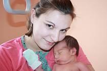 MILOŠ MĚŘIL 48 CENTIMETRŮ. Miloš Kopřiva z Milovic se narodil 25. listopadu 2013 v 8.35 hodin. První  a dopředu prozrazené miminko v rodině Veroniky a Miloše  vážilo 2 830 g a měřilo 48 cm.