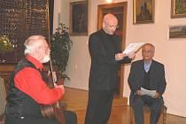 Pásmo o Masarykovi nazvané Hovory v mlčení předvedli Strejček, Navrátil a Rak