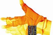 Symbol projektu Hozená rukavice.
