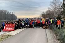 Silvestrovského běhu v Nymburce se zúčastnilo přes sto borců