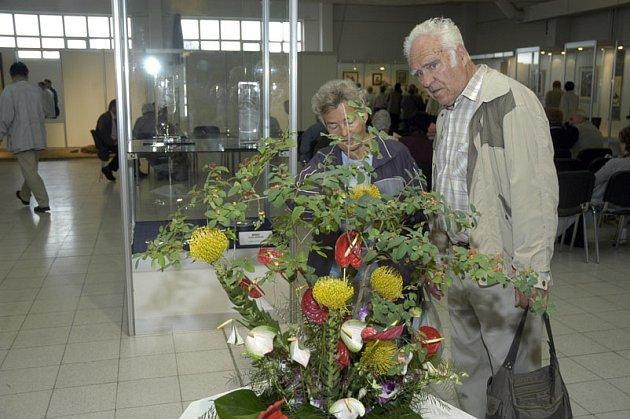 Na výstavišti začal jedenáctý ročník tradiční výstavy Květy a zahradnických trhů.