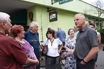 Setkání radních s občany sídliště