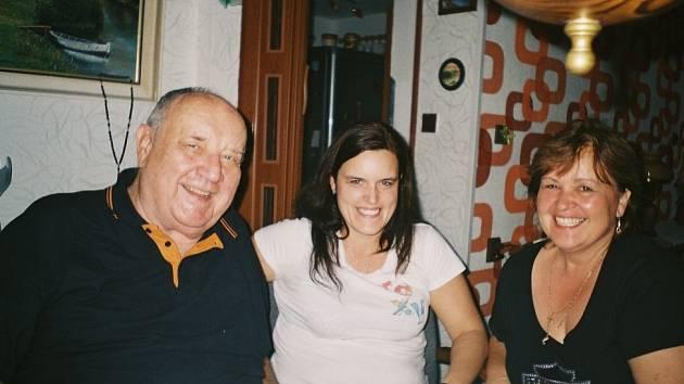 Docent Šindlář na návštěvě v Činěvsi