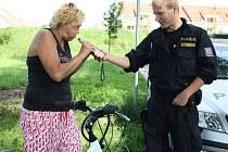 Kontroly na cyklostezkách