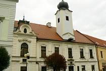 Budova Městské knihovny Poděbrady.