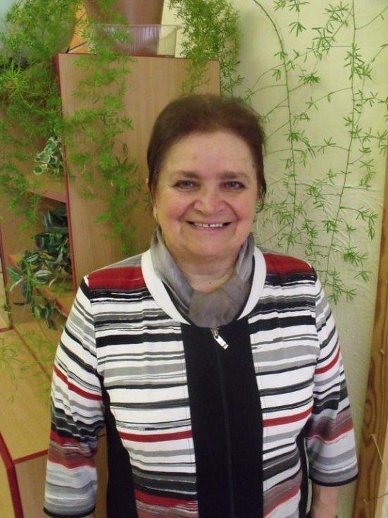 Marie Bičišťová - nominovaná do ankety Zlatý Ámos.