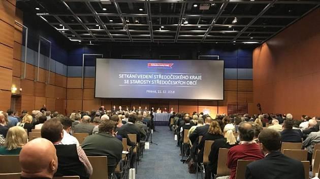 Setkání se starosty Středočeského kraje.