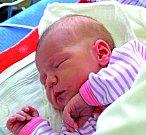 LUCIE REISINGEROVÁ je slečna narozená 24. května 2017 v 19.02 hodin. První miminko Michaely a Jaroslava z Milovic vážilo 2 920 g a měřilo 48 cm.