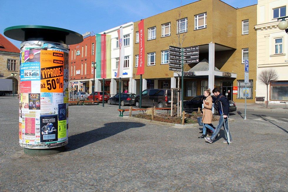 Náměstí Přemyslovců je jedním z míst, pro které lze hlasovat v anketě o umístění městské bezdrátové sítě.