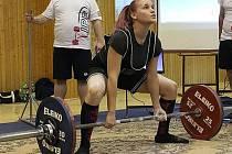 Mladá závodnice Sokola Nymburk Aneta Střísková skončila na republikovém šampionátu na třetí pozici.