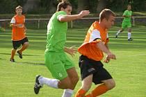 Z okresního derby fotbalové I.B třídy Lysá - Libice (2:0)