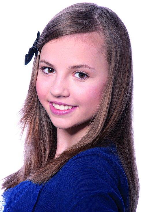 Nella Čmejrková, 13 let, Kolín