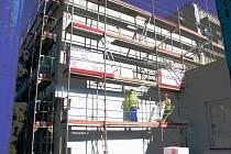 Zateplení budovy školy a opravy tělocvičen na ZŠ V. Havla v Poděbradech
