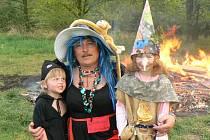 V Hořátvi pořádali pálení čarodějnic poprvé.