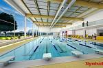 Vizualizace nového bazénu v Nymburce.