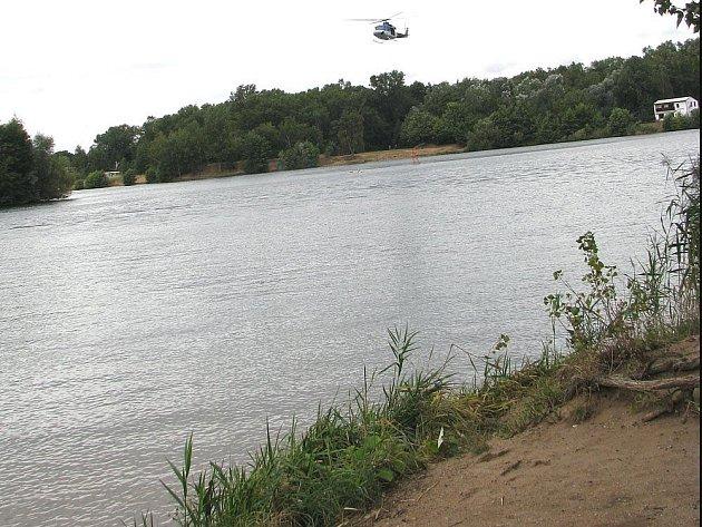 Jezero v Sadské.