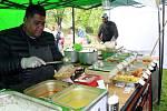 Street Food Fest přilákal na Špičku stovky lidí například kuchyni Srí Lanky nebo Peru.