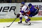 Z hokejového utkání druhé ligy Nymburk - Písek (4:1)