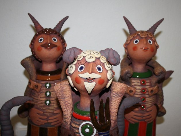 Kouzlo Vánoc podle keramika Bronislava Kuby