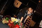 Eva Hrubá a její poslední představení a zároveň křest básnické sbírky