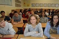 Studenti nymburského gymnázia besedovali