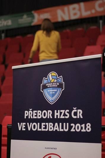 Přebor HZS ČR ve volejbale.