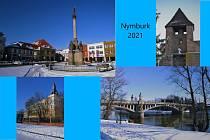 Úkolem školáků bylo vytvořit pohlednici zimního města či vesnice z jejich vlastních fotografií.