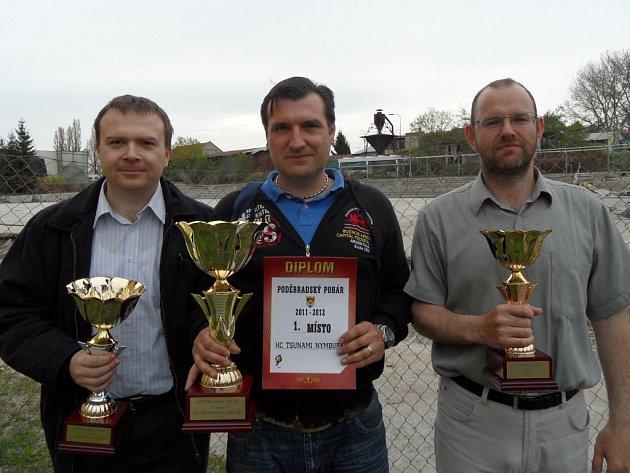 Zástupci týmů převzali ceny pro nejlepší týmy
