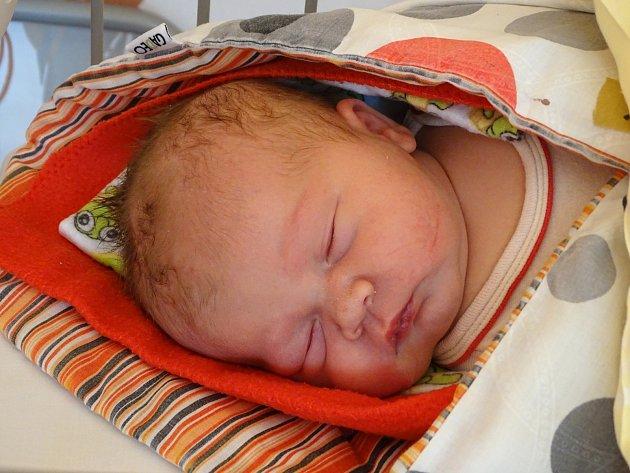 VIKTORIE JŮZOVÁ se narodila 22. února 2018 ve 13.30 hodin s výškou 49 cm a váhou 4 050 g. Na holčičku se těšili rodiče Michaela a Roman z Milovic i již velcí sourozenci Simona, Vladimír a Roman.