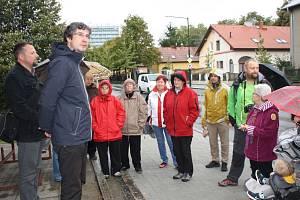 Setkání občanů s radními v lokalitě Boleslavská