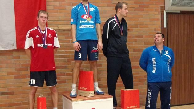 Nohejbalista Spartaku Čelákovice Michal Kolenský znovu získal titul mistra republiky.