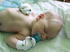 ONDŘEJ ONDRÁŠEK. Ondřeje WOLFA přinesl čáp 22. května 2015 v 7.03 hodin. Klouček vážil 3 760 g a měřil 52 cm. Je zatím prvním miminkem maminky Heleny a tatínka Michala, kteří si svého synka odvezli domů do Sadské.
