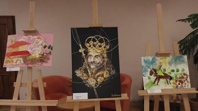 Výtvarná a literární soutěž  k výročí krále Jiřího mají své vítěze. Foto: Městská knihovna Poděbrady