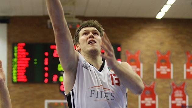 Z basketbalového utkání NBL Nymburk - Kolín (100:69)