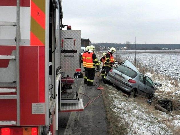 Smrtelná nehoda u Velenky.