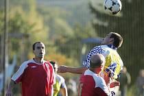 Z fotbalového utkání I.B třídy Libodřice - Ostrá (3:1)